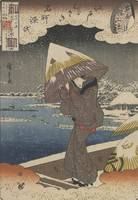 Hiroshige~Famous Sites in Edo and Chapters from th
