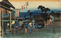 Hiroshige~Motomachi Junction, Totsuka, from the se