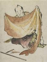 Hokusai~A Cloth Merchant