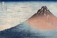 Hokusai~A MILD BREEZE ON A FINE DAY, from the Thir