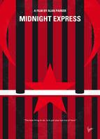 No1181 My Midnight Express minimal movie poster