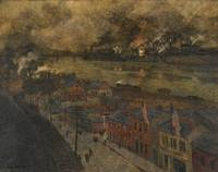 Frits Thaulow~Smokey City