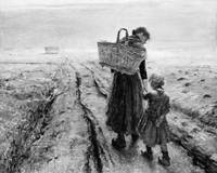 Fritz von Uhde~Going Home