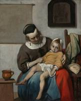 Gabriël Metsu~The Sick Child