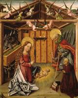 García Del Barco~Triptych of the Nativity -   (2)