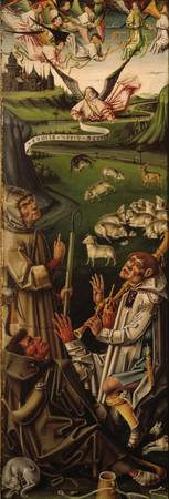 García Del Barco~Triptych of the Nativity