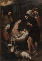 Gaspar de Figueroa~The Adoration of the Shepherds