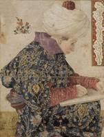 Gentile Bellini~A Seated Scribe