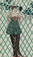 George Barbier~Evening gown