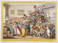 George Cruikshank~A Scene at the London Museum Pic