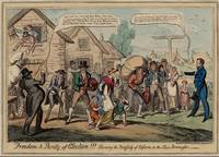 George Cruikshank~Freedom & Purity of Election!!!