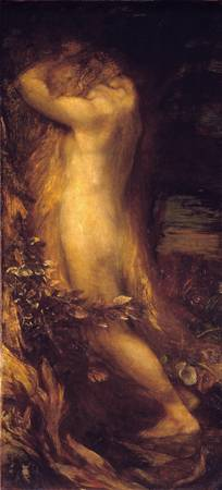 George Frederic Watts~Eve Repentant