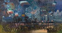 George Luks~Armistice Night