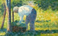 Georges Seurat~The Gardener