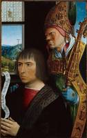Gerard David~Joos van der Burch and Saint Simon of