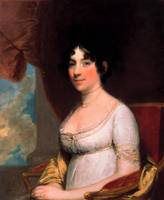 Gilbert Stuart~Dolley Payne Madison (Mrs. James Ma