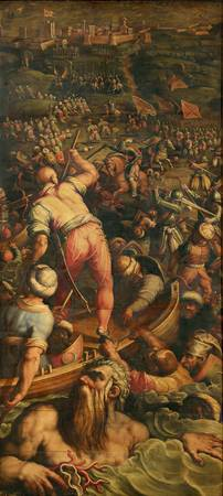 Giorgio Vasari~Rout of the Turks at Piombino