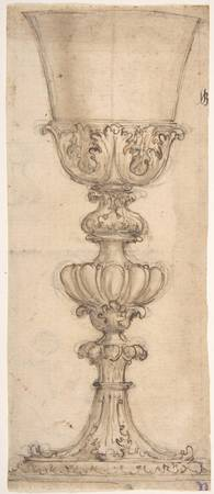 Giovanni Battista Foggini~Design for a Chalice (re