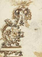 Giovanni Battista Foggini~Design for a Gilt Bronze