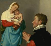 Giovanni Battista Moroni~A Gentleman in Adoration