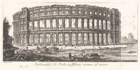 Giovanni Battista Piranesi~Amphitheater of Pola in