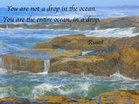 Rumi Quotes Art Print