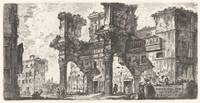 Giovanni Battista Piranesi~Part of the Forum of Ne