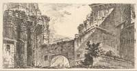 Giovanni Battista Piranesi~Plate 15 Forum of Augus