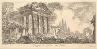 Giovanni Battista Piranesi~Plate 21 Temple of Pola