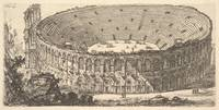 Giovanni Battista Piranesi~Plate 25 Amphitheater o