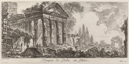 Giovanni Battista Piranesi~Tempio di Pola in Istri