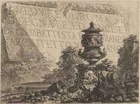 Giovanni Battista Piranesi~Title-page for the 'Ved