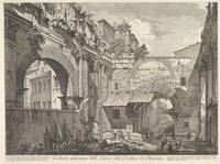 Giovanni Battista Piranesi~Veduta interna dell'Atr