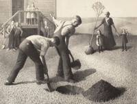 Grant Wood~Tree Planting Group