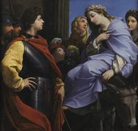 Guido Reni~The Meeting of David and Abigail