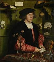 Hans Holbein the Younger ~The Merchant Georg Gisze