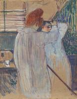 Henri de Toulouse-Lautrec~Women Combing their Hair