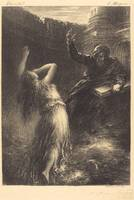 Henri Fantin-Latour~Evocation of Kundry (2nd plate