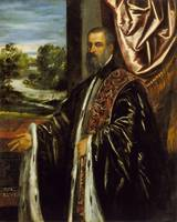 Tintoretto~Portrait of Marino Grimani