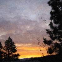 Christmas 07 Sunrise Two by Faye Cummings