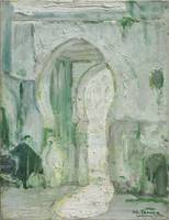 Henry Ossawa Tanner~Doorway in Tangier