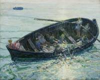 Henry Ossawa Tanner~The Miraculous Haul of Fishes