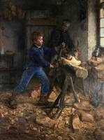 Henry Ossawa Tanner~The Young Sabot Maker