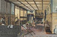 Henry Robert Robertson~The Interior of Hall Place,