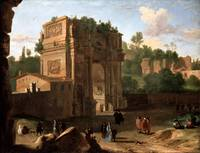 Herman van Swanevelt~The Arch of Constantine, Rome