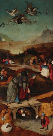 Hieronymus Bosch~The Temptations of St. Anthony -