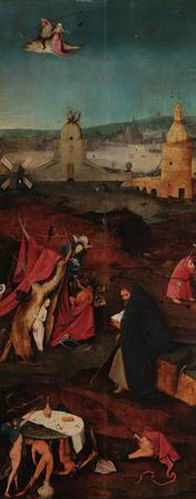 Hieronymus Bosch~The Temptations of St. Anthony