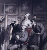 Honoré Daumier~The Amateurs