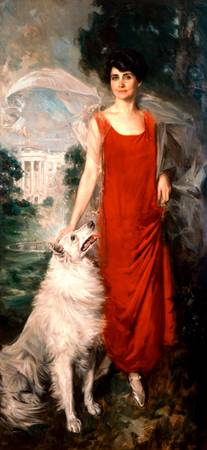 Howard Chandler Christy~Grace Goodhue Coolidge (Mr