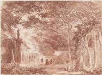 Hubert Robert~The Oval Fountain in the Gardens of